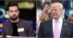 Donald Trump ile Twitter CEO'su Jack Dorsey Görüşmesi